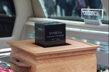 Pogrzeb Xymeny Zaniewskiej-Chwedczuk