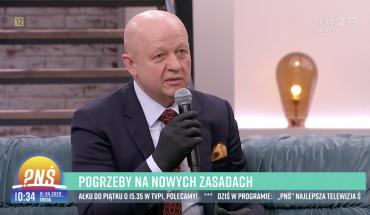 Pogrzeby na nowych zasadach – Prezes Łukasz Koperski w wywiadzie dla TVP2
